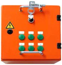 3-716-R002: мультиплексор для устройства сигнализации наличия элегаза для контроля от 2 до 6 точек замера